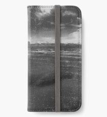 In Too Deep - Another Place by Antony Gormley iPhone Wallet/Case/Skin