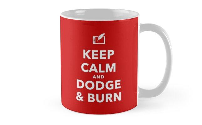 Dodge & Burn Mugs by Retouching  Academy
