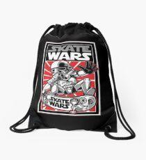 skate wars Drawstring Bag