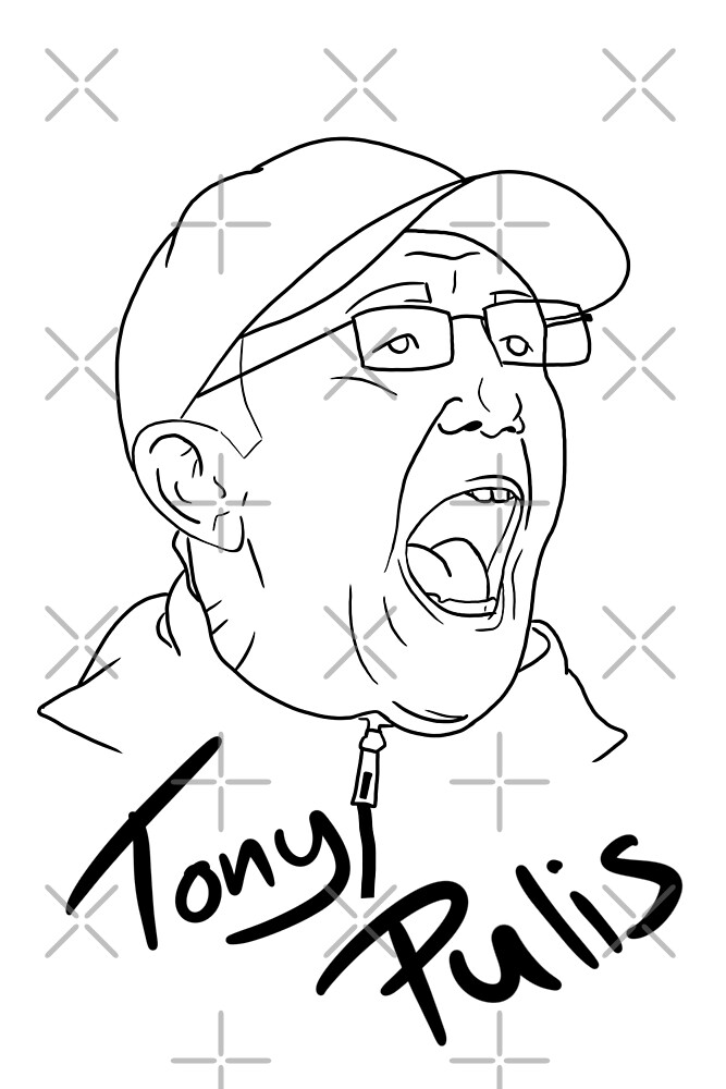 Tony Pulis by Russ Johnson
