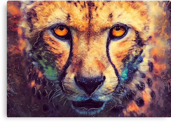 Leopard art #leopard #cats #animals by JBJart