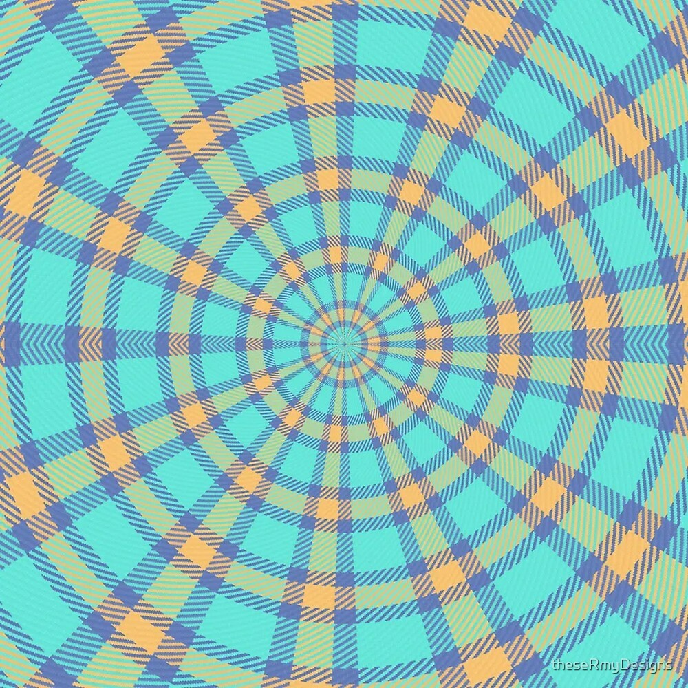 Spiralling Into Plaid by theseRmyDesigns