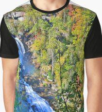 Whitewater Falls North Carolina Graphic T-Shirt