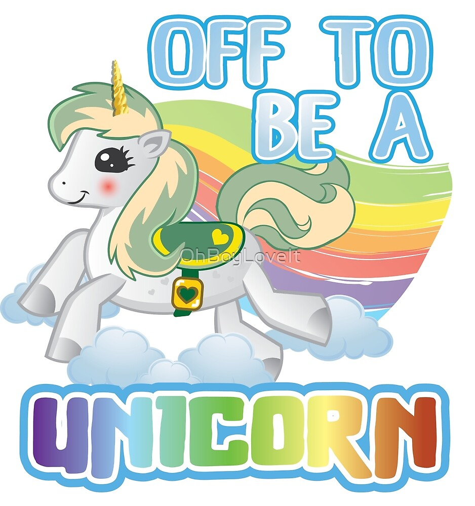 Green Haired Unicorn | Off to be a unicorn by OhBoyLoveIt