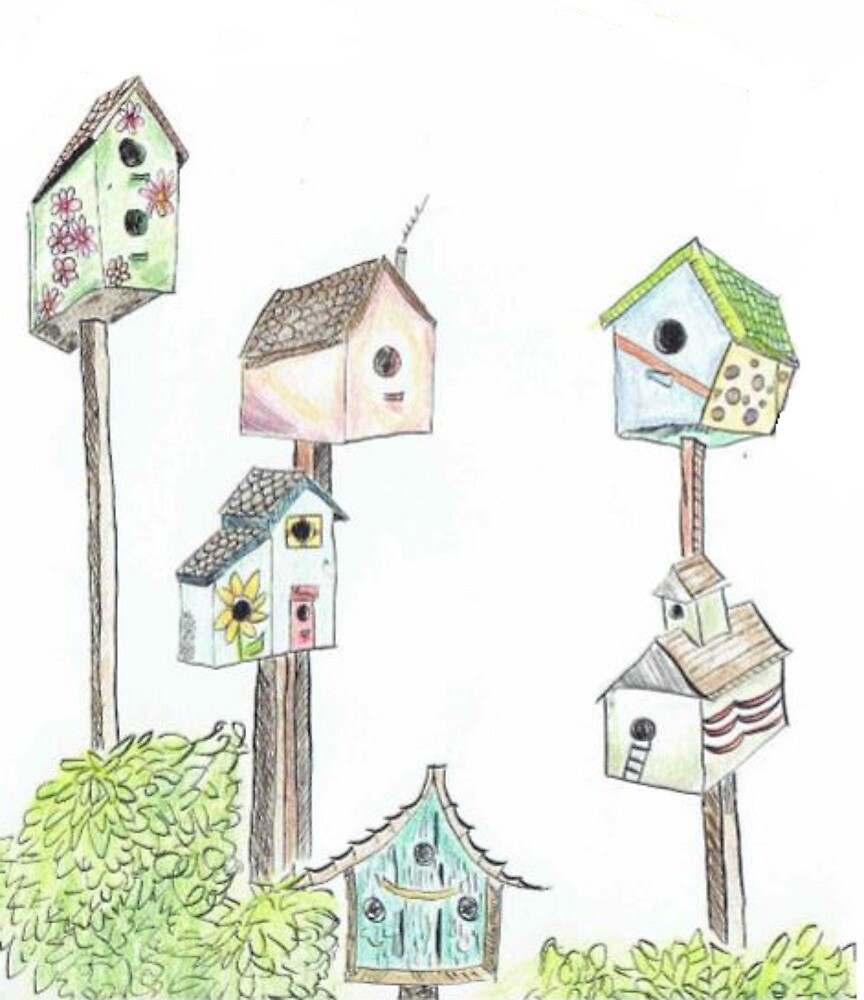 Birdhouses by Katelynmakar