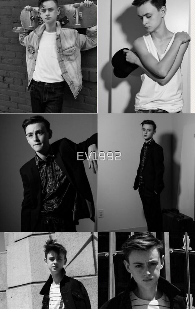 Jaeden Lieberher collage by EV1992
