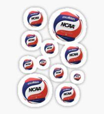 Volleyball Mini Stickers Molten NCAA Sticker