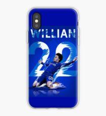 Willian of Chelsea Goal Celebration iPhone Case