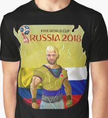 Falcao Russia 2018 Graphic T-Shirt