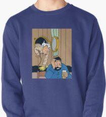 Tintin + Haddock Drink Pullover