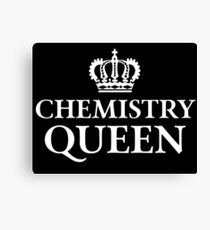 Chemistry Queen Canvas Print