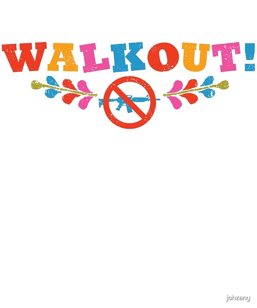 WALKOUT! Against Gun Violence by johzany