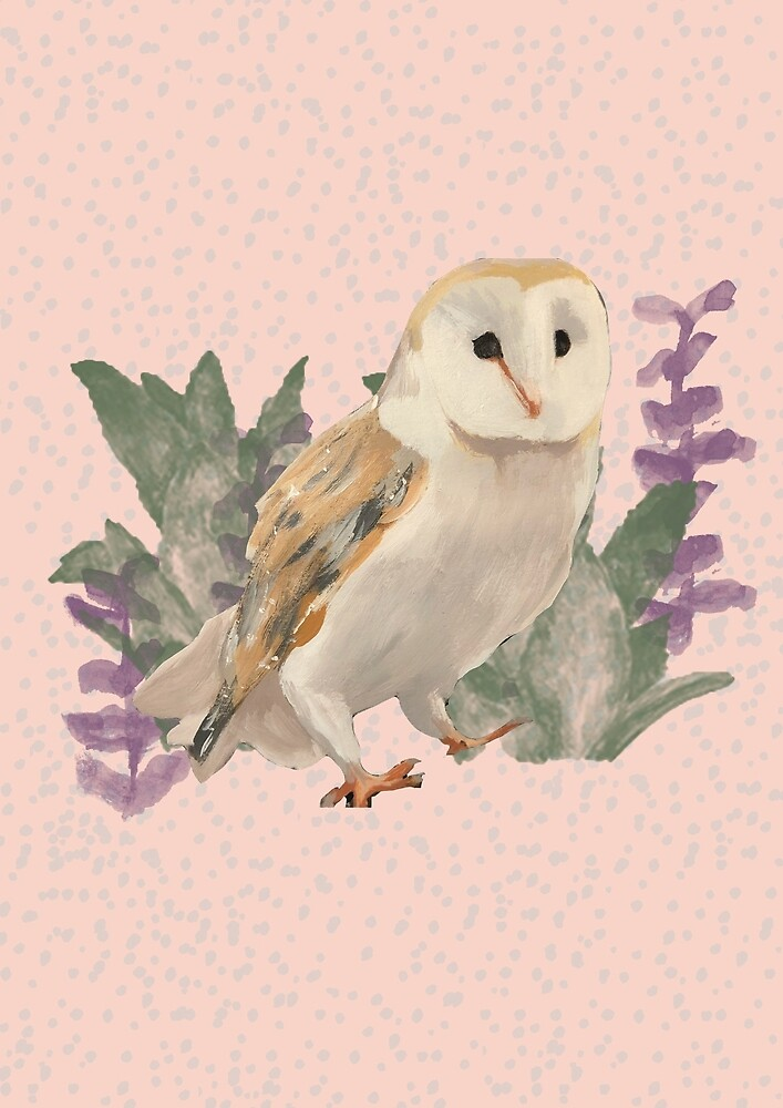 Owl Floral Design by alicedesigns297