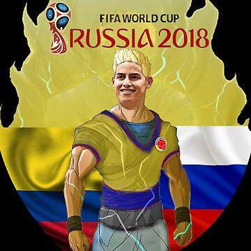 James Rusia 2018 by danbrobro