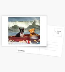 Ship wrecked Postcards