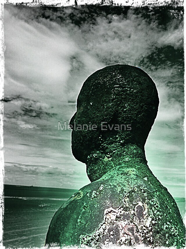Another Place - Antony Gormley by Melanie Evans