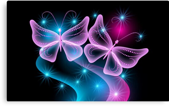 Neon Butterfly by Ange26