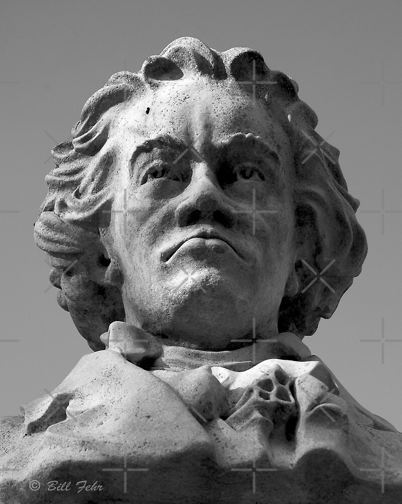 Bust of Beethoven by William Fehr