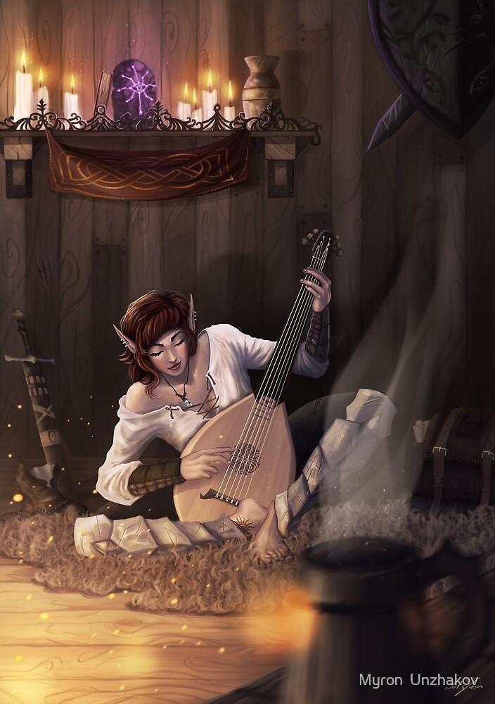 Call Of Magic  by Myron  Unzhakov