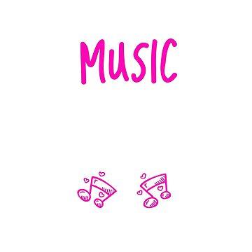 I Teach Music To Tiny Humans Music Teacher by unicornthreadz