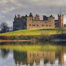 Palace and Church by the Loch by Tom Gomez