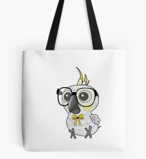 Nerdy Birdy: Citron Crested Cockatoo Tote Bag