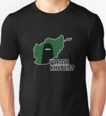Wanna Khyber? Unisex T-Shirt