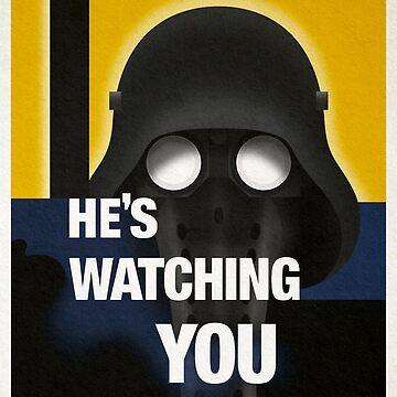 Garindan's Watching You. by GlewPrint