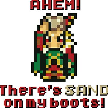"""Final Fantasy VI - Kefka """"AHEM! There's SAND on my boots!"""" by LvlUpChronicles"""
