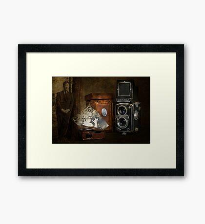 Dad's Old Camera Framed Print