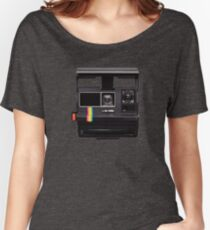 Polaroid, live in the moment. Women's Relaxed Fit T-Shirt