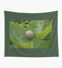 Snailed It Wall Tapestry
