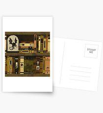 Bookcase Postcards
