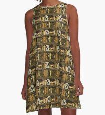 Bookcase A-Line Dress