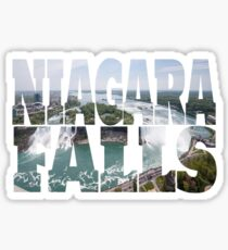 Niagara Falls State Park Waterfall NY Canada New York Sticker