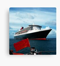 QUEEN MARY 2 Canvas Print