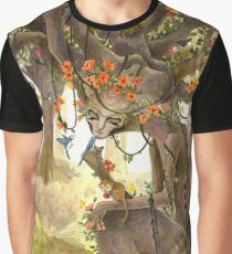 The forest goddess Graphic T-Shirt