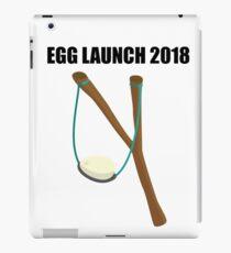 EGG LAUNCH 2018 iPad Case/Skin