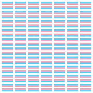 70 Transgender Flag stickers - Buy only EXTRA LARGE! See notes by reapolo