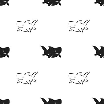 Simple Sharks by RileyRiot