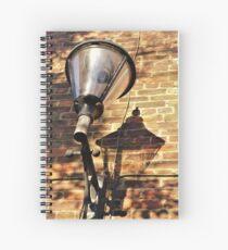 Lamp Shadow Spiral Notebook