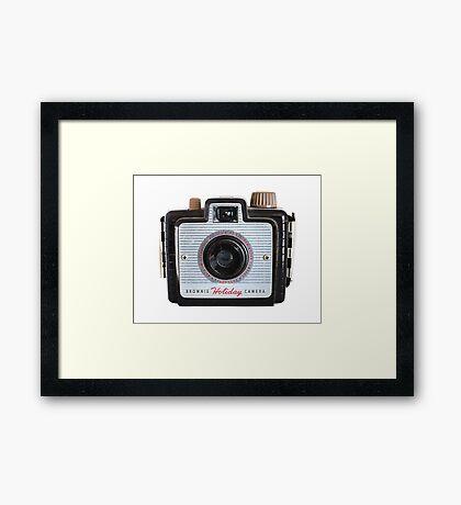 Brownie Holiday Camera #2 Framed Print