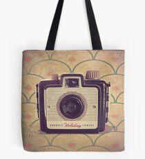 Brownie Holiday Camera - Vintage Color Tote Bag
