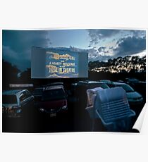 Drive-In Movie Theater (Wellfleet, Cape Cod) Poster