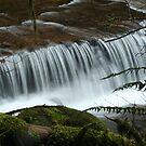 Sweet Creek Ledge Falls by CarrieAnn