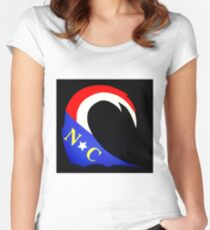 The NC Wave Women's Fitted Scoop T-Shirt