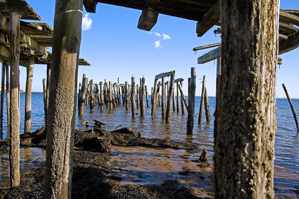 Provincetown Pier, Cape Cod by Christopher Seufert