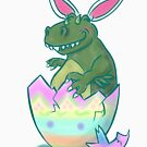 Easter Lizard by Patricia Lupien