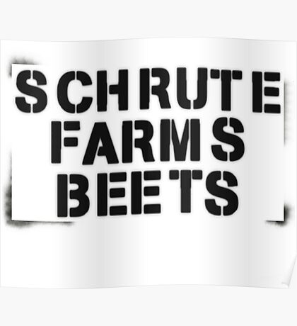 SCHRUTE FARMS BEETS Poster