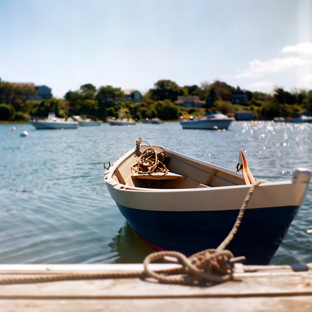 Cape Cod Dorey (Shot with a Twin Lens Reflex) by Christopher Seufert